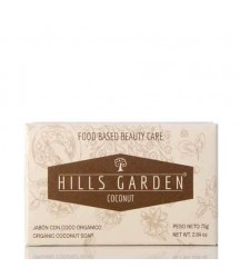 Jabón Coco Orgánico Hills Garden 75g