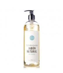 Jabón Natural sín Aroma Terrasana 500ml