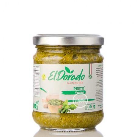 Salsa Pesto Vegano El Dorado 180g