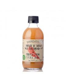 Vinagre de Sidra de Manzana con Pimienta Cayena y Penca de Sábila Manzato 250ml