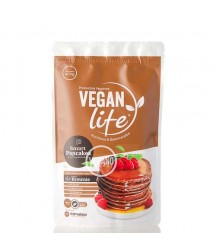 Mezcla Para Pancakes Sabor Brownie Vegan Life 400g