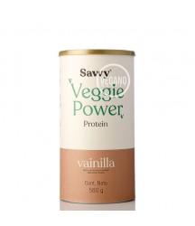 Proteína Veggie Power Vainilla Savvy 560g