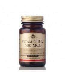 Vitamina B12 Solgar 500 MCG 100 Tabletas