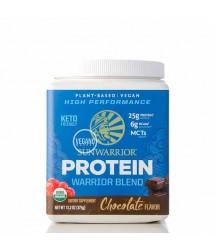 Sunwarrior Warrior Blend - Proteína Vegana Orgánica Chocolate 375g