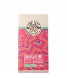 Barra de Chocolate Oscuro Chuculat 60% Cauca 80g