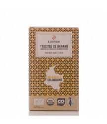 Trozos de Banano Cubiertos con Chocolate Oscuro 50g