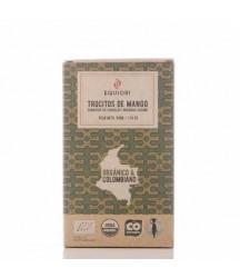 Trozos de Mango Cubiertos con Chocolate Oscuro 50g