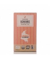 Trozos de Uchuva Cubiertos con Chocolate Oscuro 50g