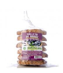 Galletas de Arroz y Arándanos sin Gluten Naruna Foods 190g x6
