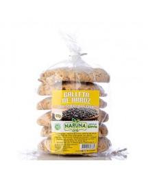 Galletas de Arroz y Chía sin Gluten Naruna Foods 190g x6
