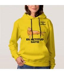 """Buzo Gatos """"En actitud Gato"""""""