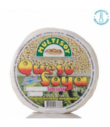 Queso de Soya Semi Salado Multisoy 450g